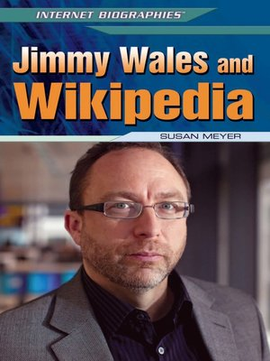 cover image of Jimmy Wales and Wikipedia