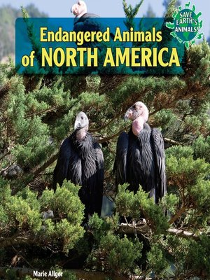 cover image of Endangered Animals of North America