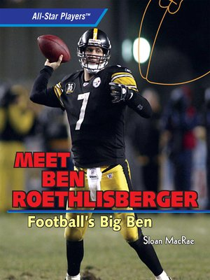 cover image of Meet Ben Roethlisberger