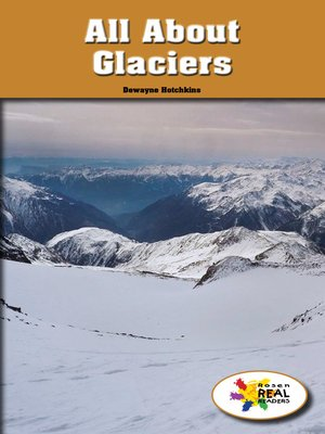 cover image of All About Glaciers