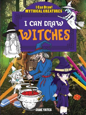 cover image of I Can Draw Witches