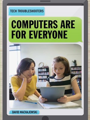 cover image of Computers Are for Everyone