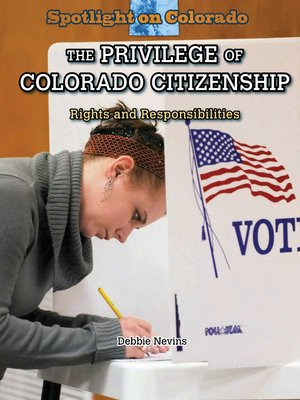 cover image of The Privilege of Colorado Citizenship
