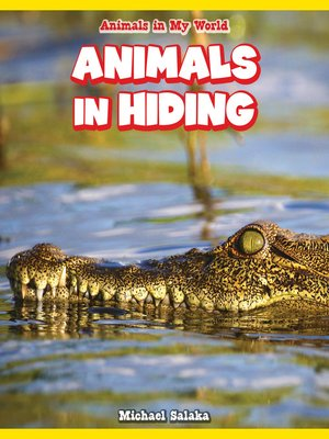cover image of Animals in Hiding