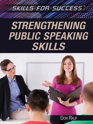 cover image of Strengthening Public Speaking Skills
