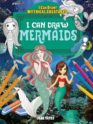 cover image of I Can Draw Mermaids