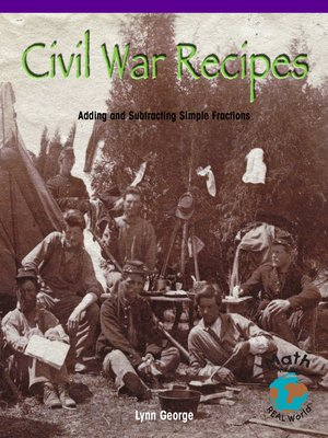 cover image of Civil War Recipes