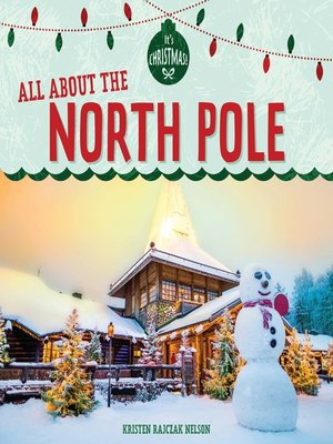 cover image of All About the North Pole