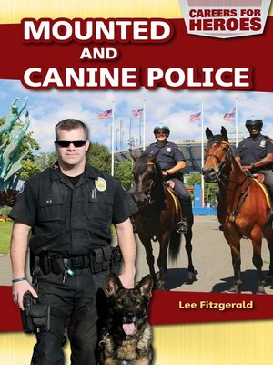 cover image of Mounted and Canine Police