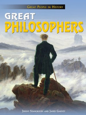 cover image of Great Philosophers