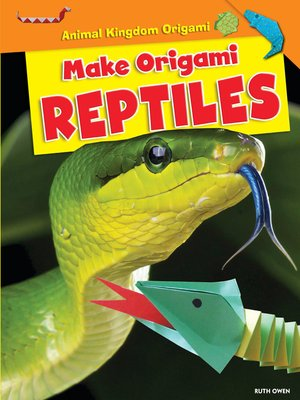 cover image of Make Origami Reptiles