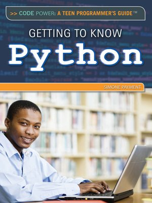 cover image of Getting to Know Python