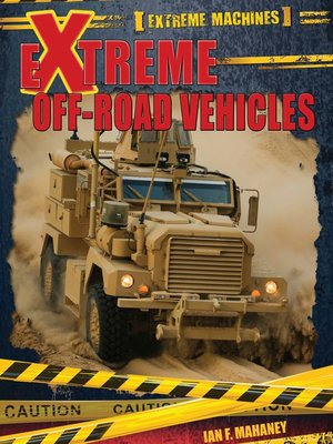 cover image of Extreme Off-Road Vehicles