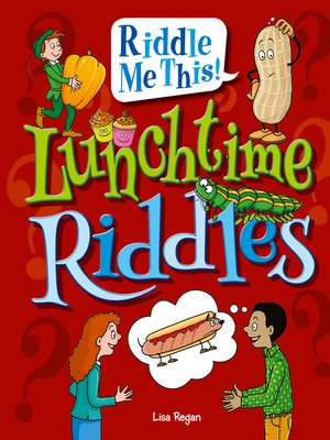 cover image of Lunchtime Riddles