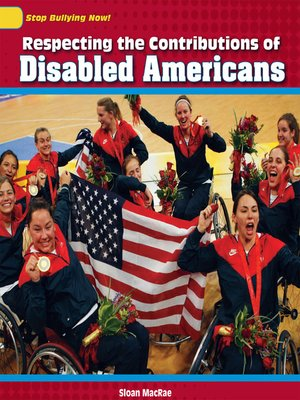 cover image of Respecting the Contributions of Disabled Americans