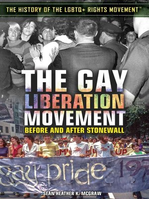 cover image of The Gay Liberation Movement