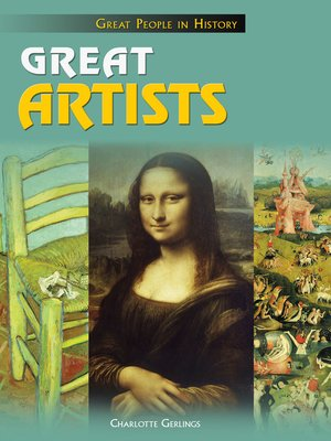 cover image of Great Artists