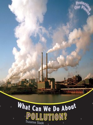 cover image of What Can We Do About Pollution?