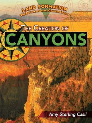 cover image of The Creation of Canyons