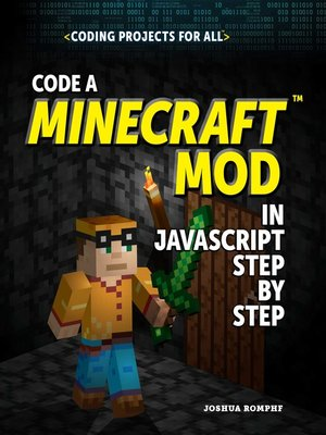 cover image of Code a Minecraft® Mod in JavaScript Step by Step