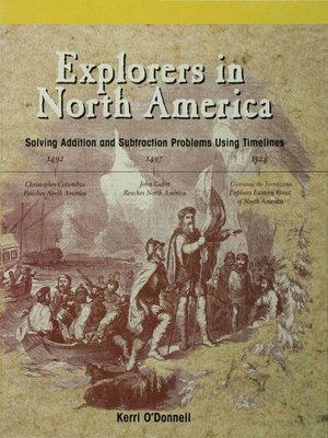 cover image of Explorers in North America