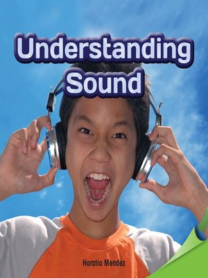 cover image of Understanding Sound