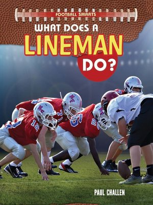 cover image of What Does a Lineman Do?