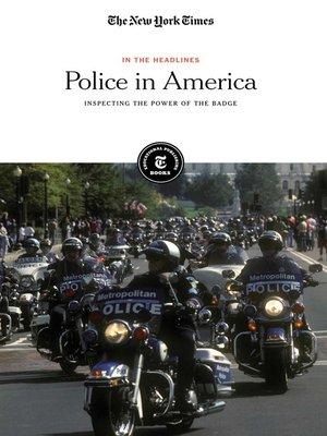 cover image of Police in America