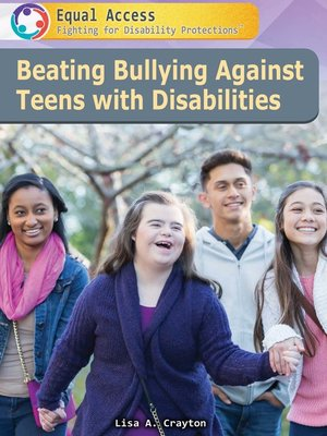 cover image of Beating Bullying Against Teens with Disabilities