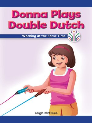 cover image of Donna Plays Double Dutch