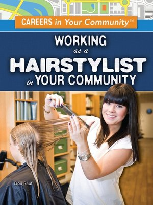 cover image of Working as a Hairstylist in Your Community