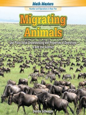 cover image of Migrating Animals