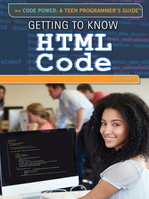 cover image of Getting to Know HTML Code