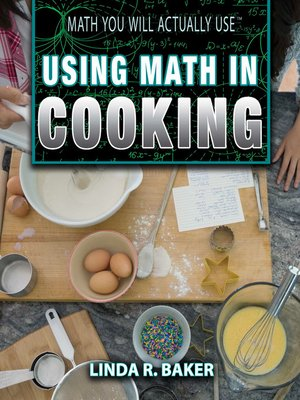 cover image of Using Math in Cooking