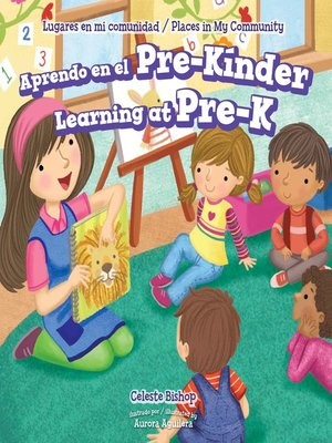 cover image of Aprendo en el Pre-Kínder / Learning at Pre-K