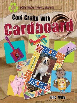cover image of Cool Crafts with Cardboard