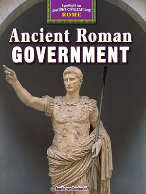 cover image of Ancient Roman Government