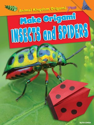 cover image of Make Origami Insects and Spiders