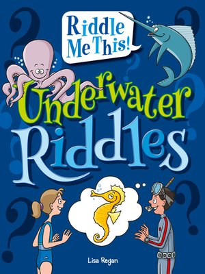 cover image of Underwater Riddles