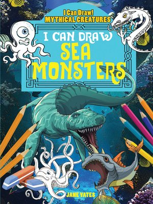 cover image of I Can Draw Sea Monsters