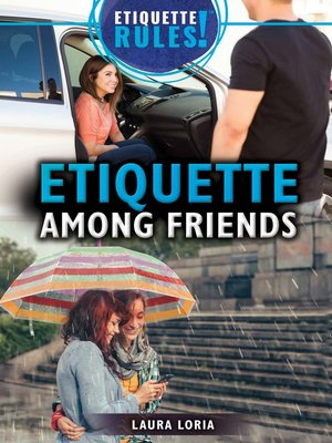 cover image of Etiquette Among Friends