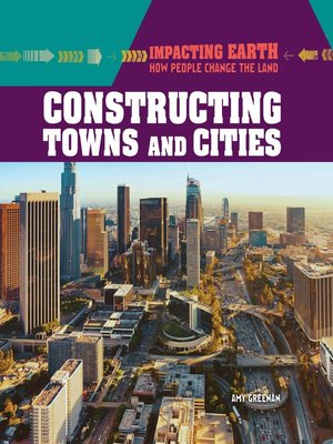 cover image of Constructing Towns and Cities
