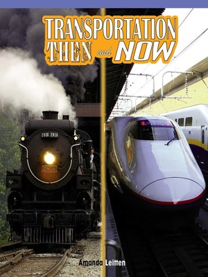 cover image of Transportation Then and Now