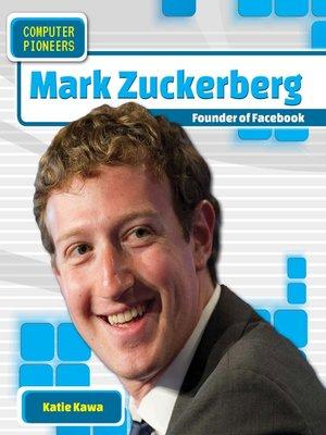 cover image of Mark Zuckerberg