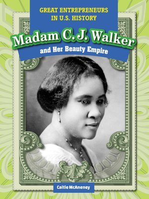 cover image of Madam C.J. Walker and Her Beauty Empire