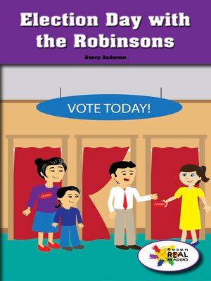 cover image of Election Day with the Robinsons