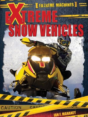 cover image of Extreme Snow Vehicles
