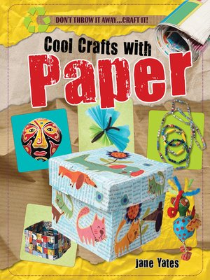 cover image of Cool Crafts with Paper