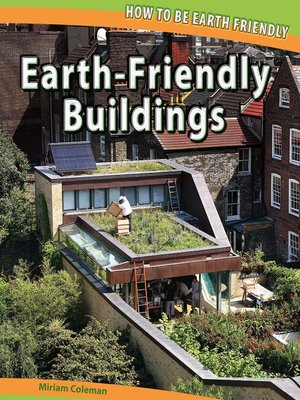 cover image of Earth-Friendly Buildings