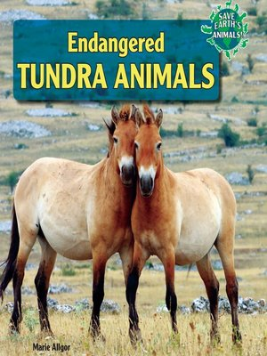 cover image of Endangered Tundra Animals